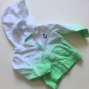 Carter's ombré anchor hoodie